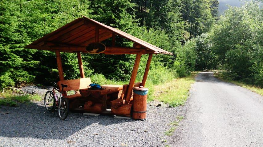 Byt v horách - Dolní Bečva - Natuur/eco-lodge