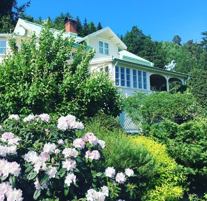 Vacker villa på Slussen ,Orust, Bohuslän