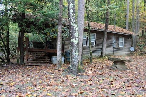 Driftwood Cabin in Almost Heaven, Hacker Valley WV