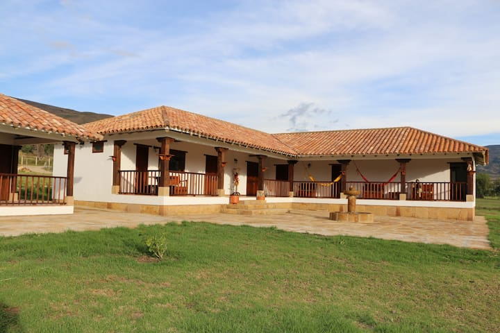 Casa Campestre San Jose de Veracruz - Villa de Leyva - House