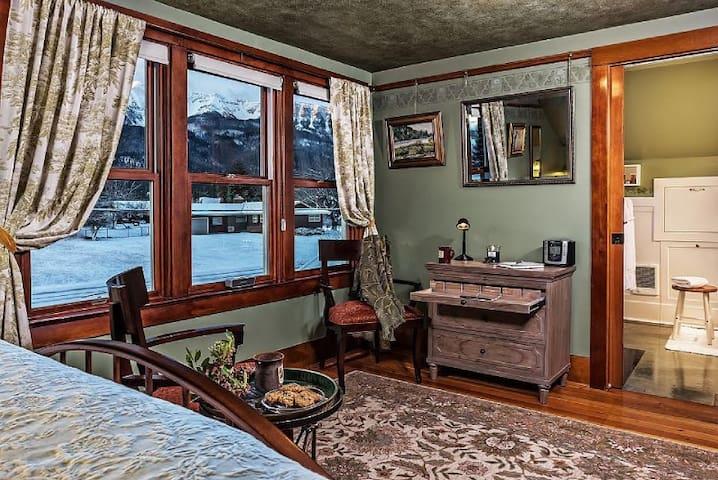 Bronze Antler B&B-Chief Joseph Mountain Room