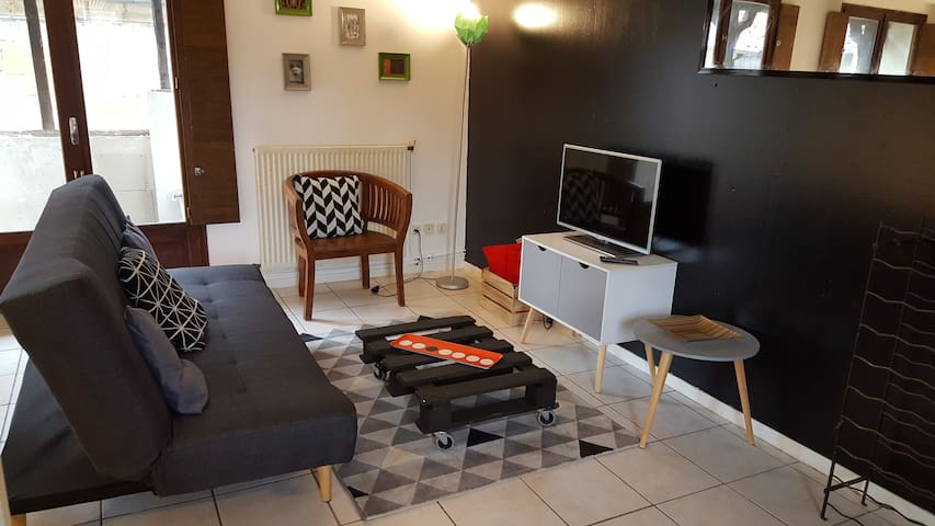 Appartement de charme - centre historique - Figeac