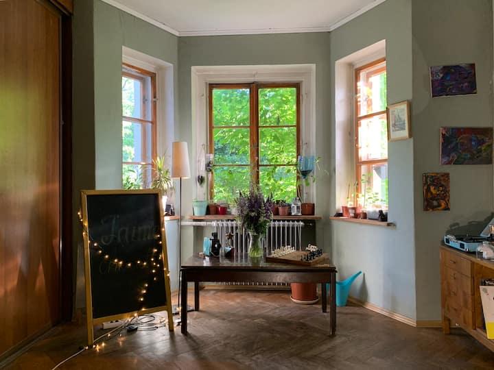 Уютная комната в сердце города