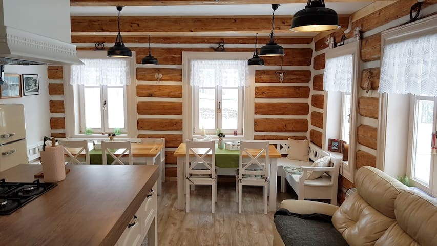 A cozy cottage in the heart of Krkonose Mountains