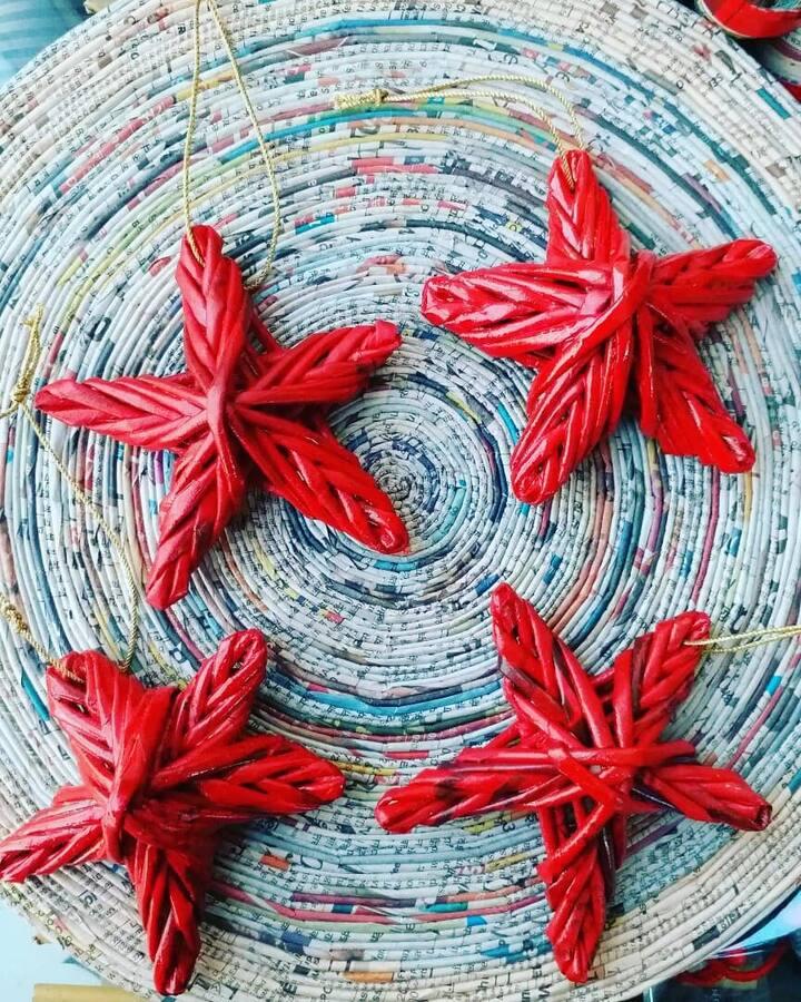 Eco-friendly Christmas Stars