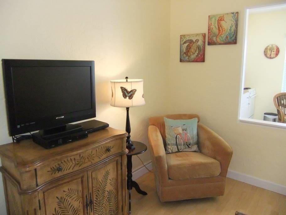 Comfortable, quality furnishings throughout.