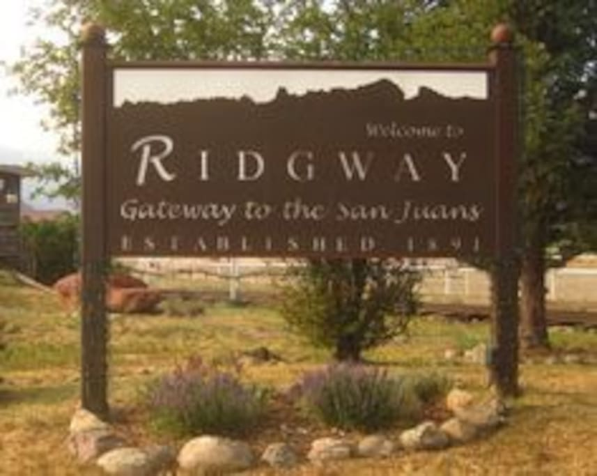 Welcome to Ridgway