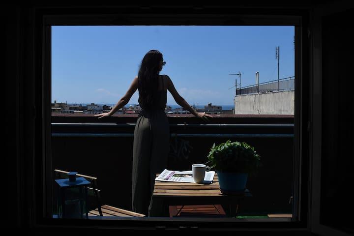 Q luxury rooms 360° city view