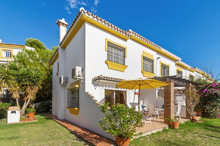 House in Mijas Costa - 5 min from the beach