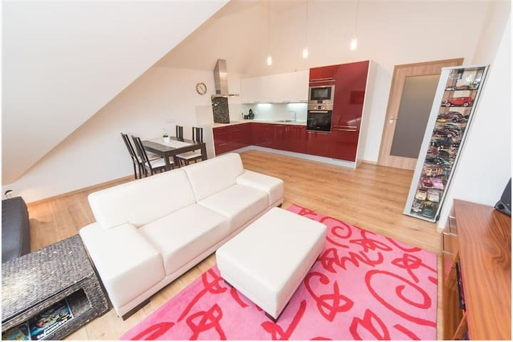 New penthouse with a terrace close to city center