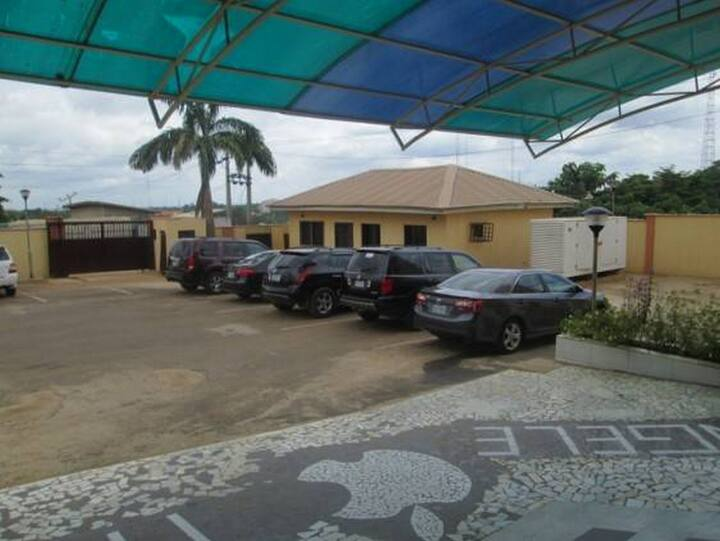 Joy House Hotel And Suites is a budget hotel in Garki, Abuja.