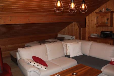 wunderschöne Dachwohnung 2-4 Personen - Waltensburg/Vuorz - Apartmen