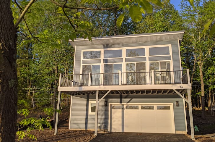 Four Season Lake Front Home- new construction