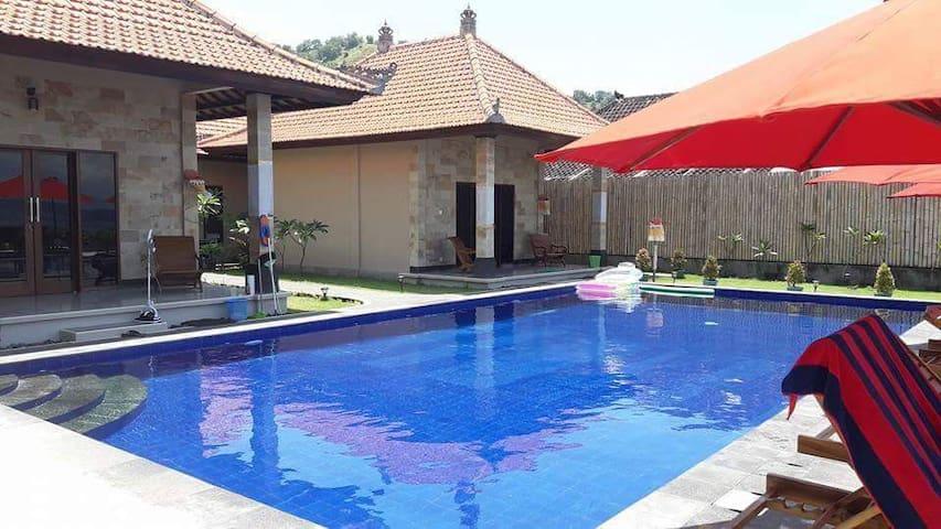 Pool in front of Ocean View Rooms