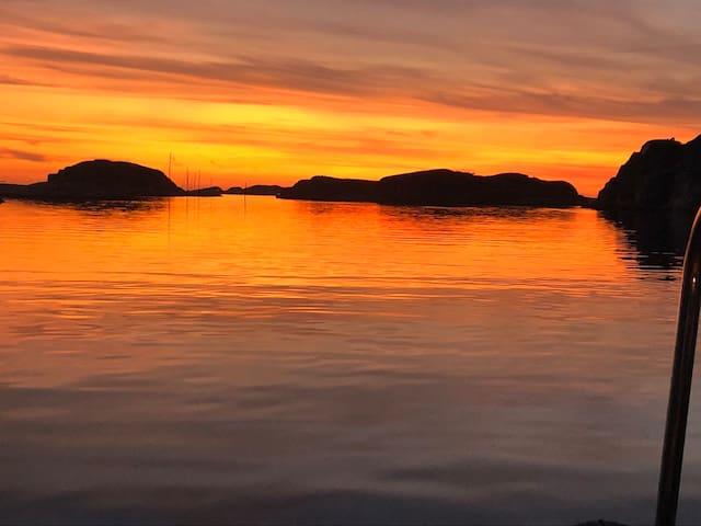 Mysigt hus med havsutsikt i vackra Bohuslän
