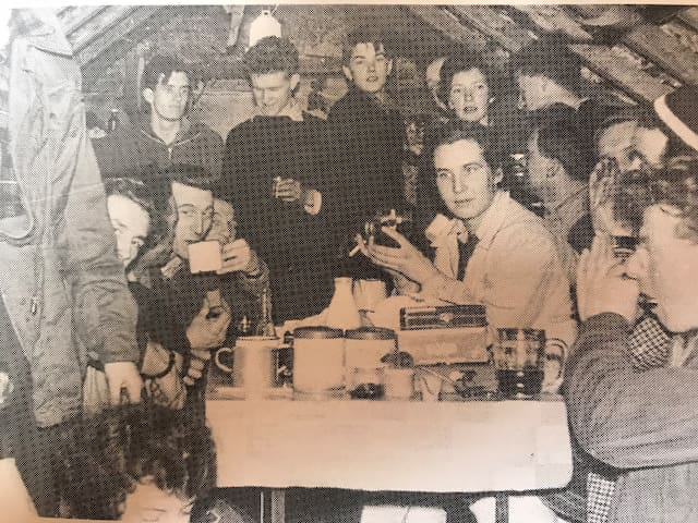 The bunkhouse as been welcoming guests since 1930. It will be interesting to know does anyone know these faces they were all from the Manchester area,we have a good knowledge of who they where .