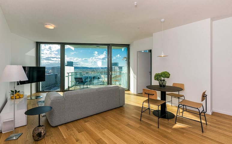 View from the top: Brand-new luxury studio