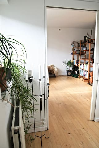 Beautiful loft w. balcony in the heart of Nørrebro