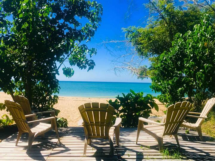 * BEST PRIVATE OCEANFRONT D'TOWN RINCON -3 BEDROOM