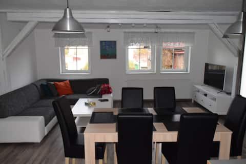 Nový mezonetový apartmán č.2 v Jablonci Nad Nisou