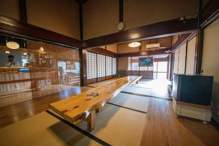 Renovated traditional Japanese style house