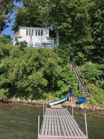 House w/ Private Lake-Front Property, Cooperstown