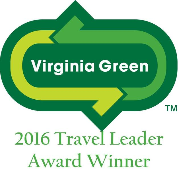 2015 VA Green B&B of the YEAR!