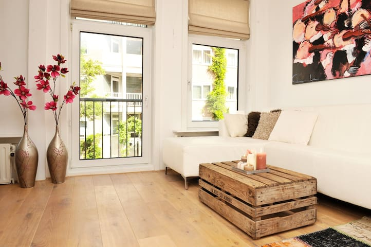 Lovely apartment in Helmers area with balcony