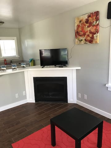 1 room unit w/fireplace by beach(N) - Santa Cruz - Apartmen