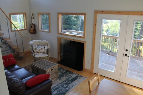Lover's Roost cabin above Park City