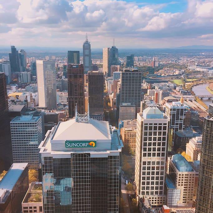 amazing view - Melbourne CBD