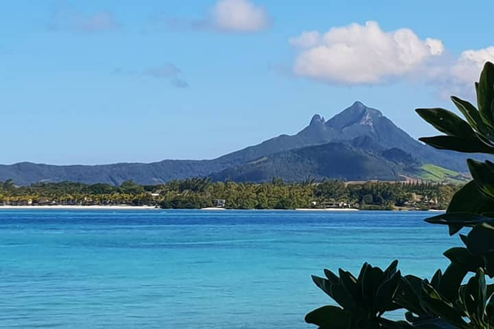 Casa Frangipani Mauritius - Blue Apartment