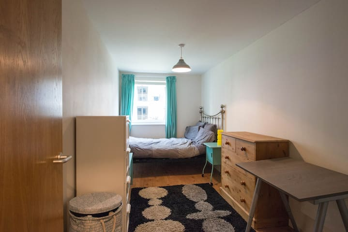 Double room with great transport links.