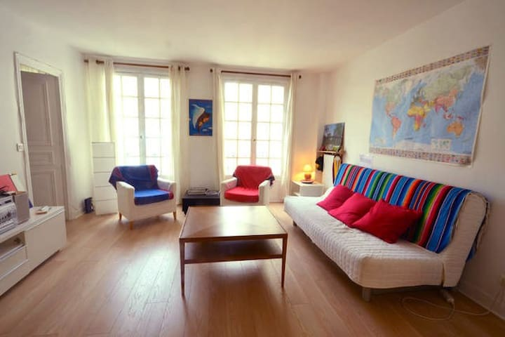 Peaceful 60m2 in the heart of Paris - Latin Area