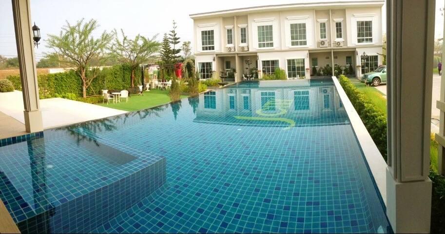 Village's swimming pool (free)