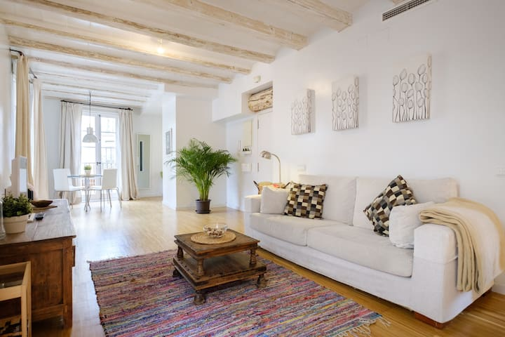 Bright and quiet, in the heart of the Old Town - Barcelona - Apartamento