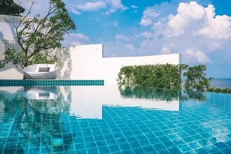 Deep night beach villa 免费早餐 免费接送机 24小时管家保姆 免费用车+司机