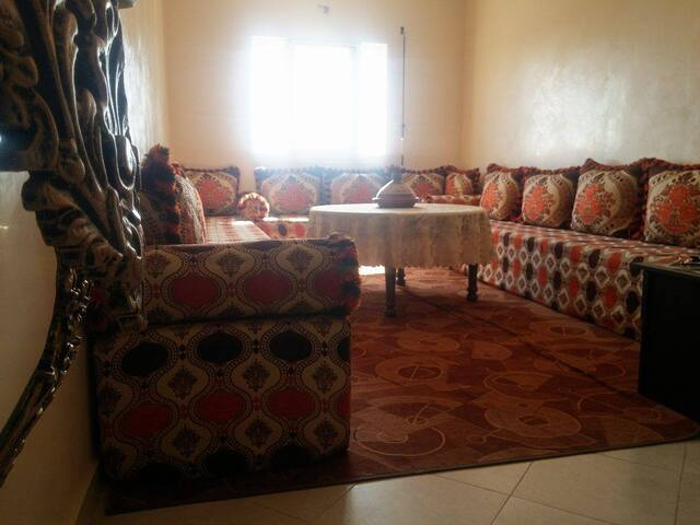 Beautiful and spacious appart near the airport - Marrakech - Apartment