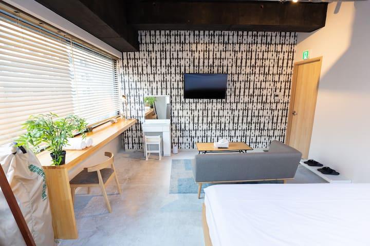 TOKYO-W-INN Asakusa Double Room