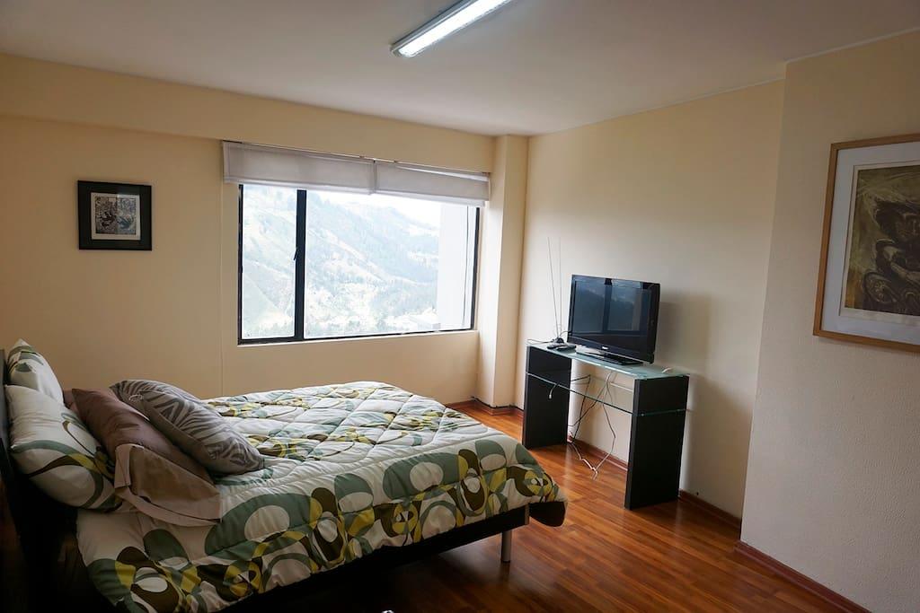 Una parte del dormitorio