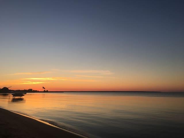 Alpena Beach Cabana on Lake Huron