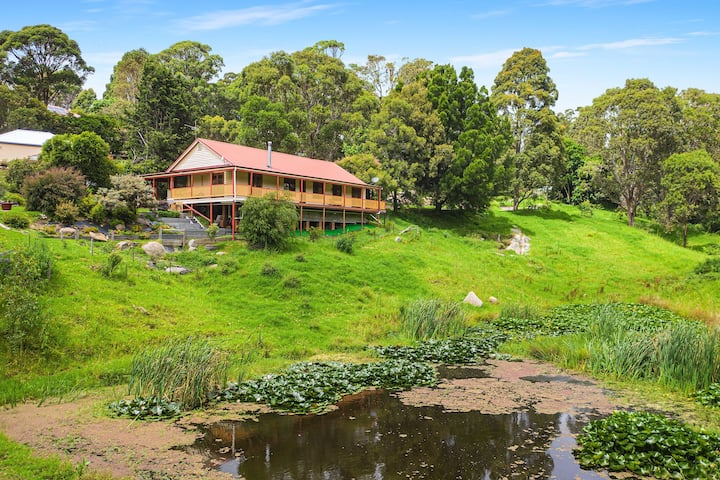 Town and country: Oasis in centre of Central Tilba