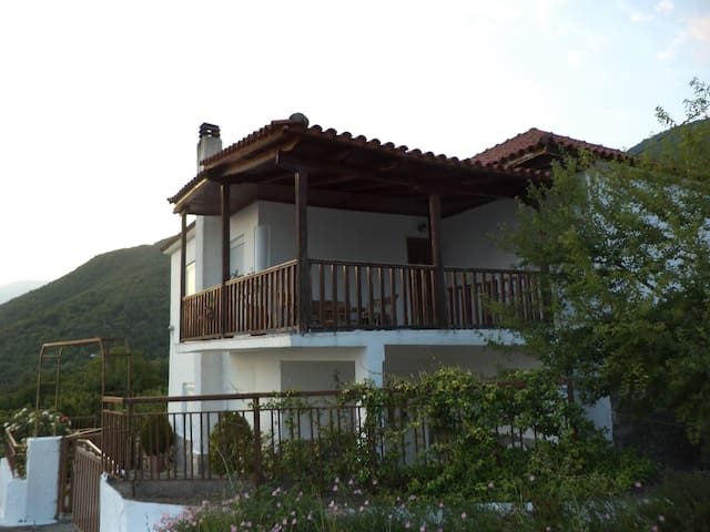 Village House near lake Kerkini