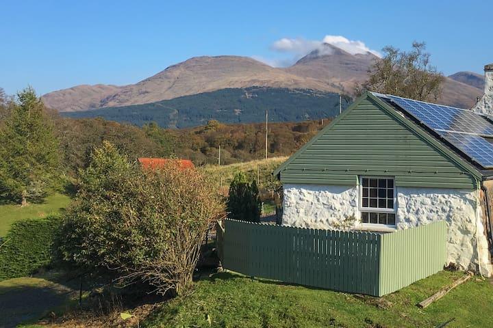 The Byre- unique Scottish farm cottage near Oban