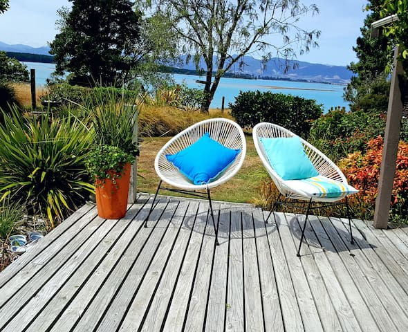 Bronte Tides Cottage, Mapua - Stunning View - Mapua - 一軒家