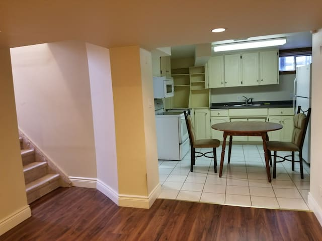 Quiet apartment close to downtown