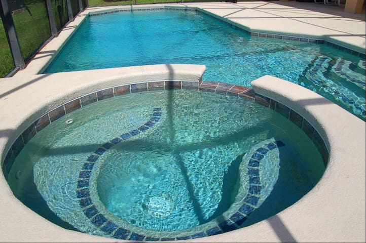 Your pool and spa
