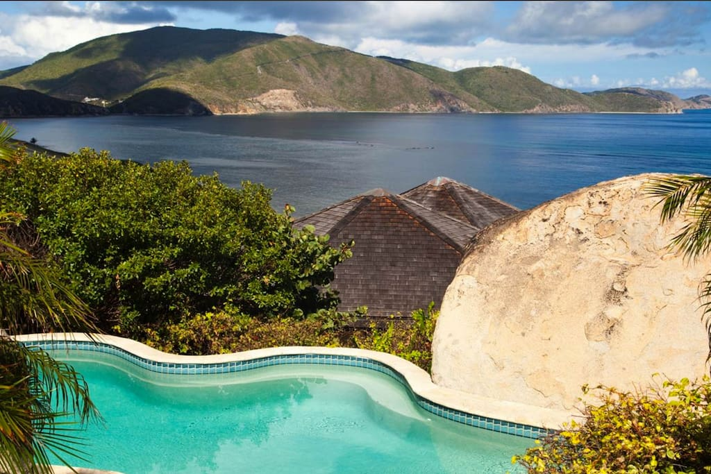 Gorgeous 4bd Windy Hill Villa With Pool Gardens Villas For Rent In The Valley Virgin Gorda