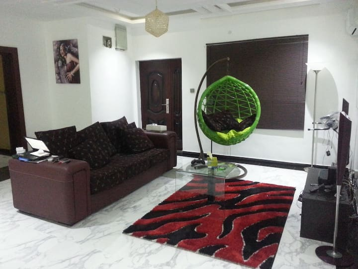 Beach Front Private Room II + Pool in Lekki