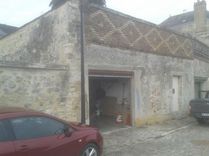 chambre avec garage fermé